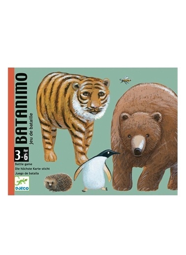 Djeco Djeco Kart Oyunları / Batanimo Pembe